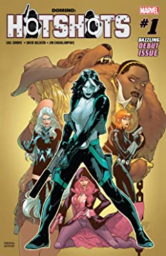 Domino: Hotshots (2019) #1 (of 5)
