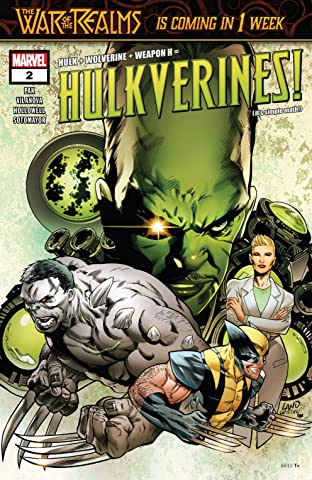 Hulkverines (2019) #2 (of 3)