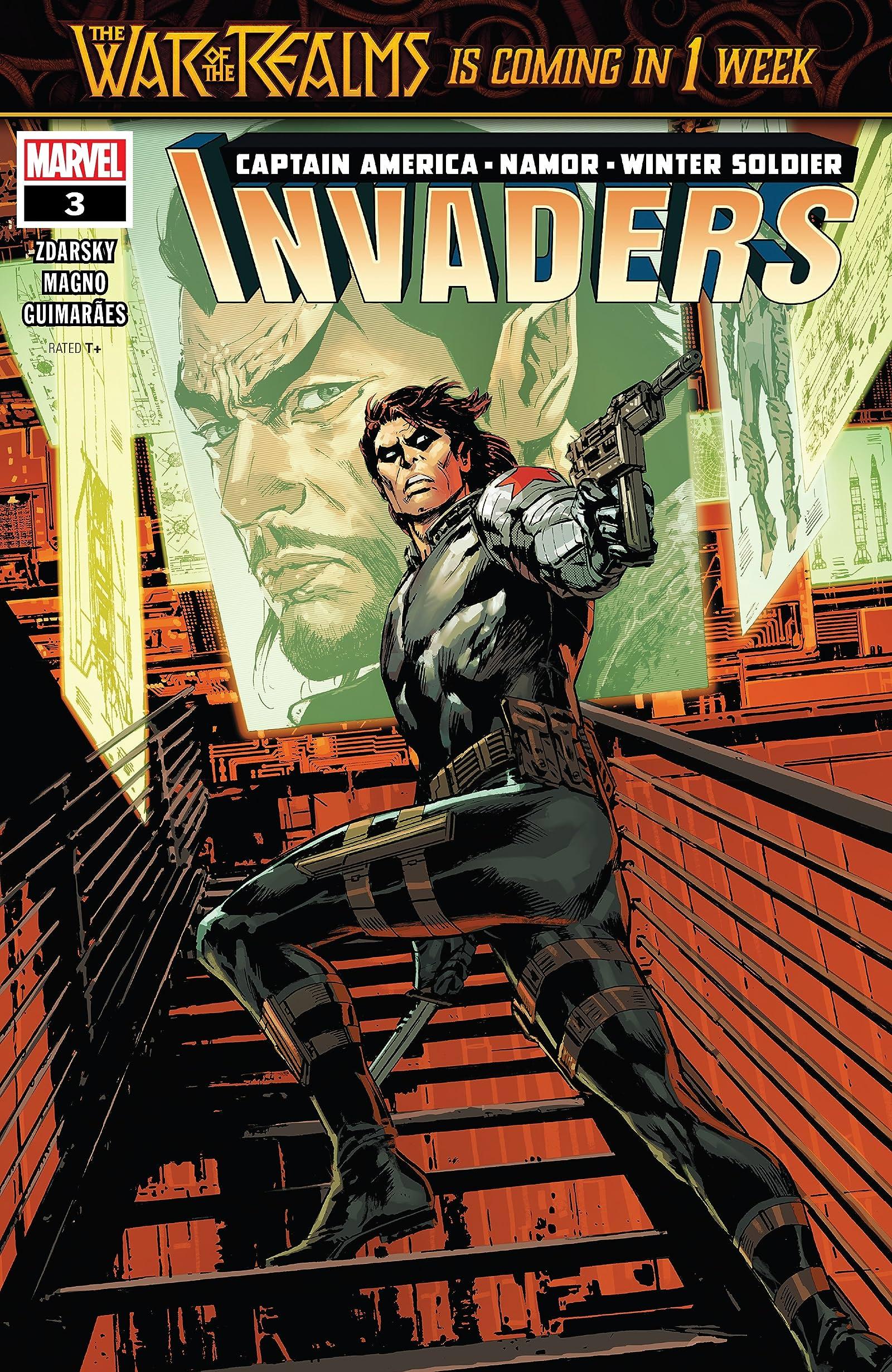INVADERS #1 MARVEL 2019 1st Print COMIC