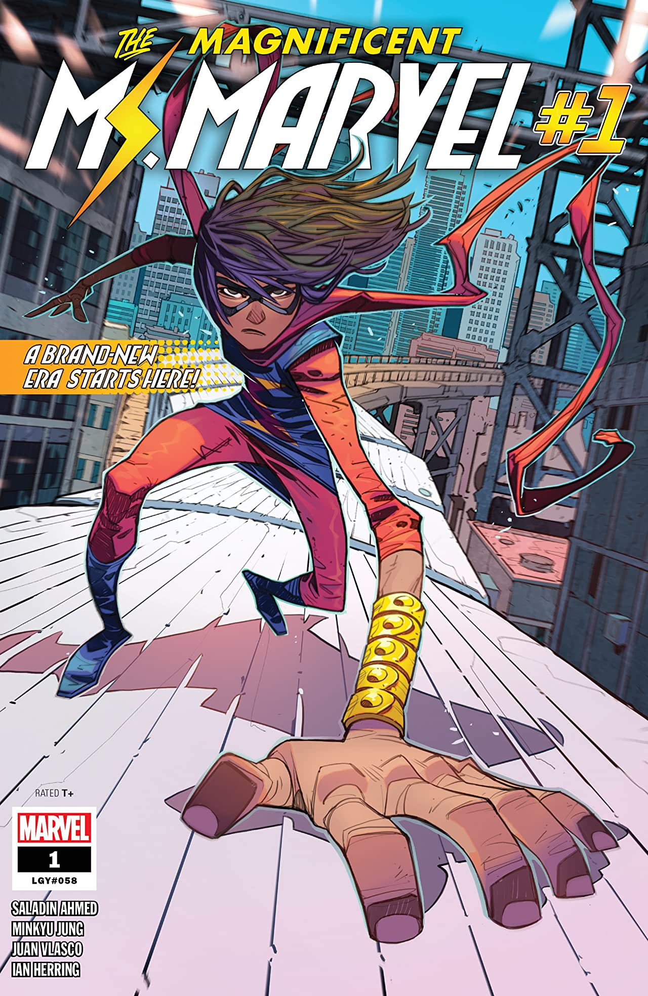 Magnificent Ms. Marvel (2019-) #1: Director's Cut