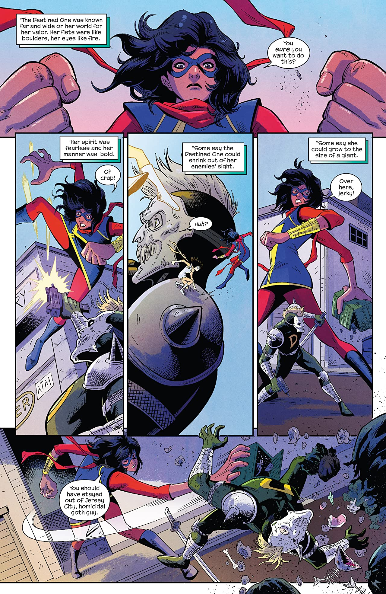 Magnificent Ms. Marvel (2019-) No.1: Director's Cut