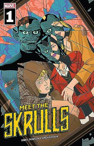 Meet The Skrulls (2019) #1 (of 5)