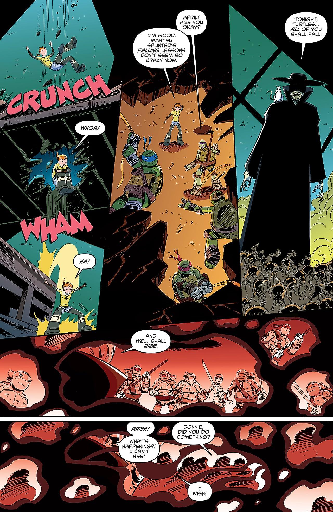 Teenage Mutant Ninja Turtles: New Animated Adventures #8