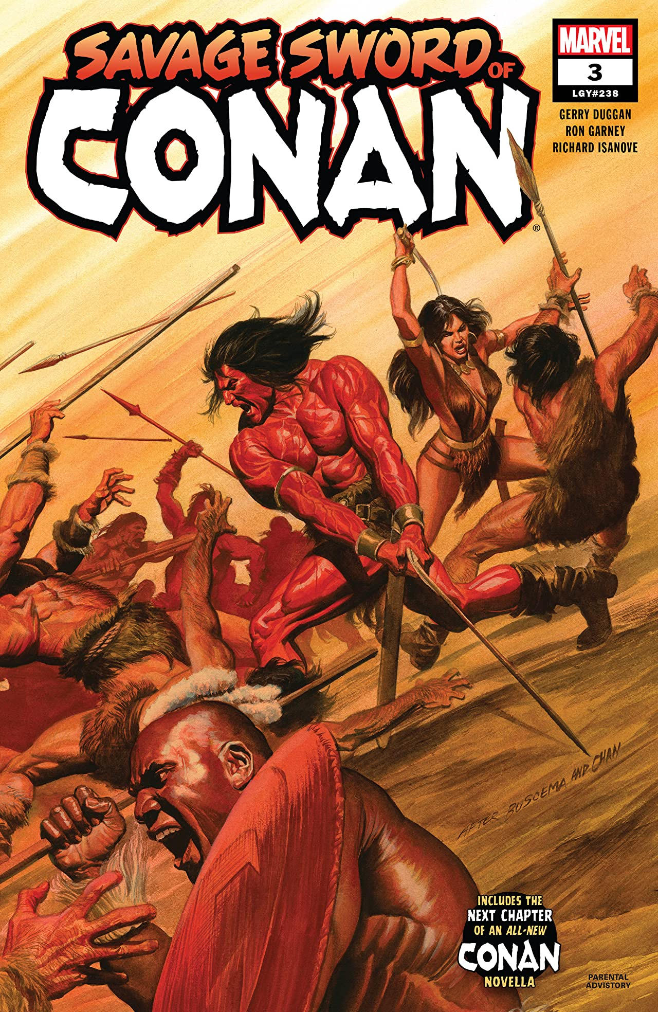 Savage Sword Of Conan (2019-) No.3