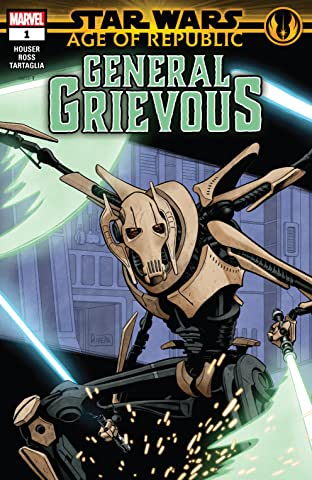 Star Wars: Age Of Republic - General Grievous (2019) No.1