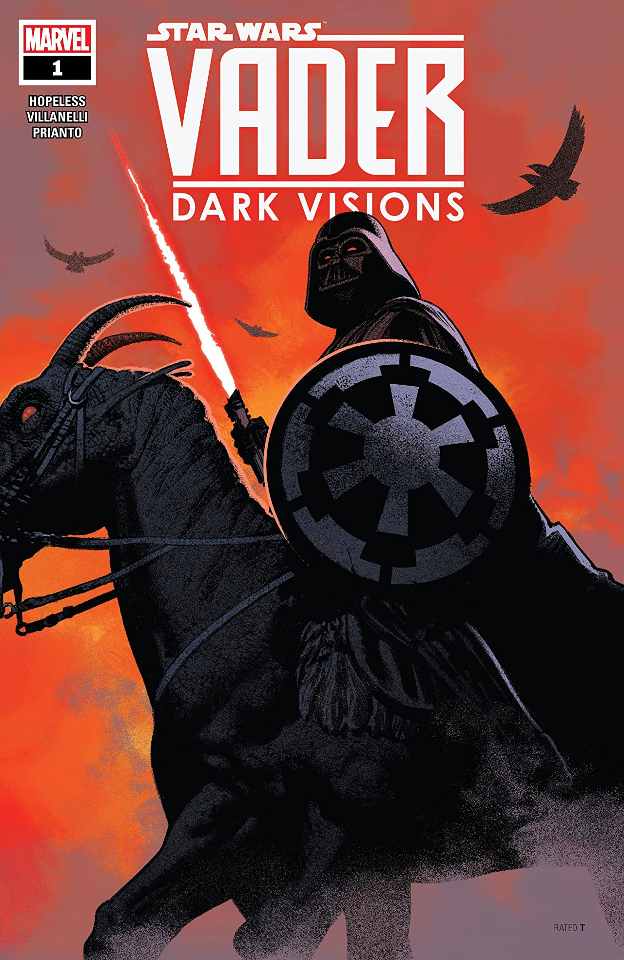 Star Wars: Vader - Dark Visions (2019) #1 (of 5)