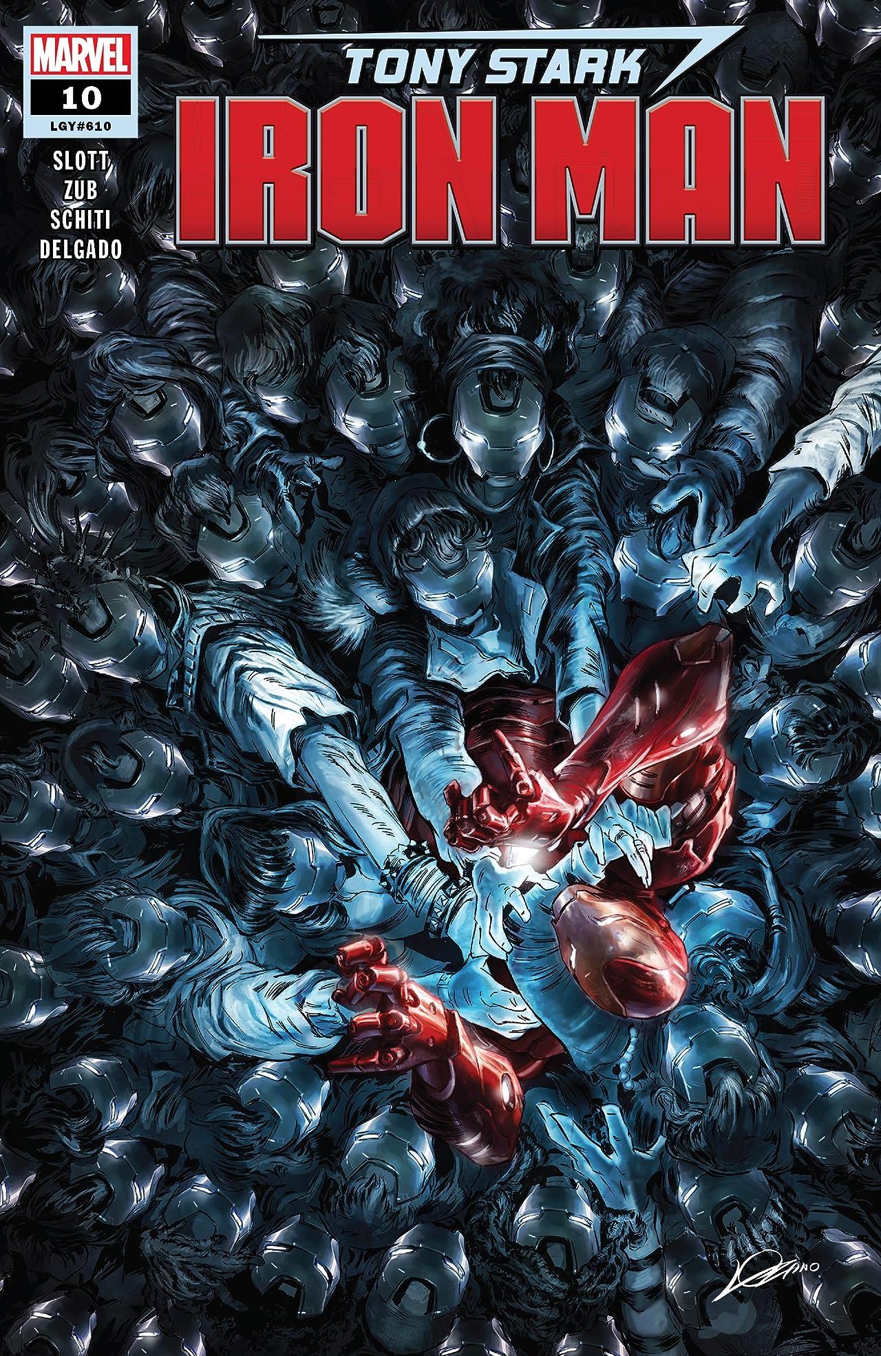 Tony Stark: Iron Man (2018-) No.10