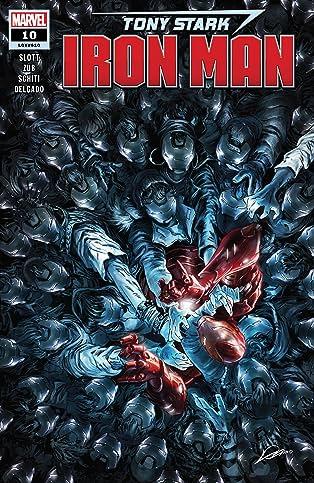Tony Stark: Iron Man (2018-) #10