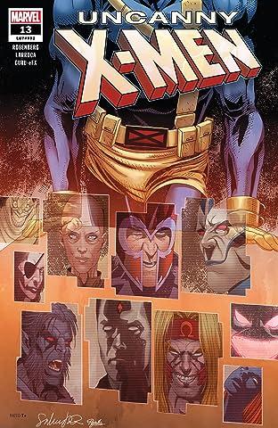 Uncanny X-Men (2018-2019) No.13