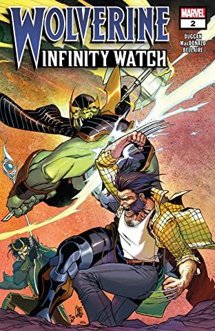 Wolverine: Infinity Watch (2019) No.2 (sur 5)