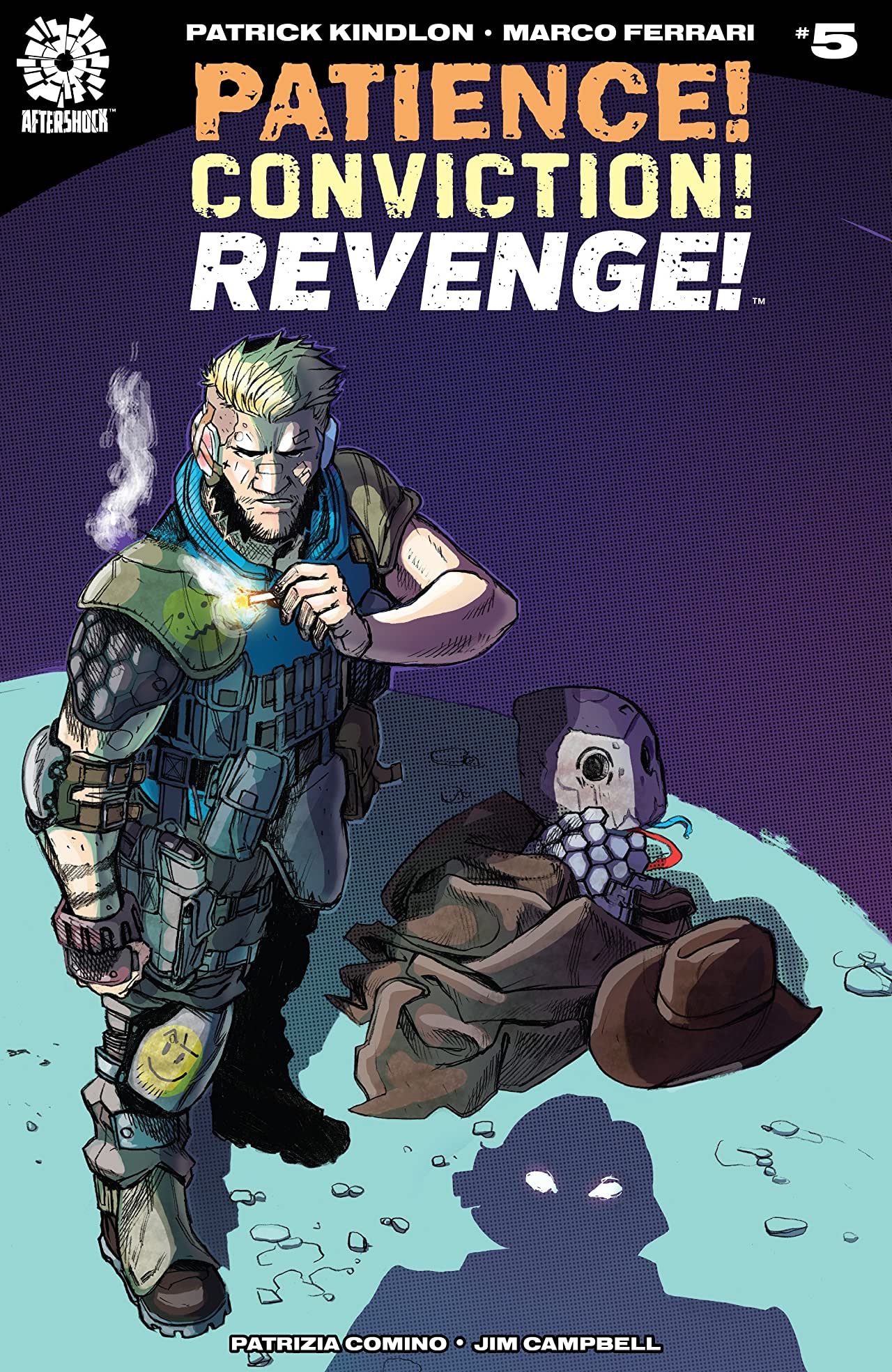 Patience! Conviction! Revenge! #5