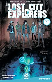 The Lost City Explorers Tome 1: Odyssey