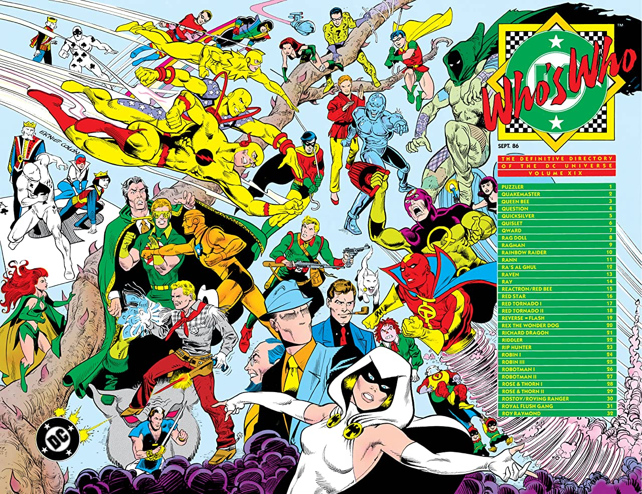 Who's Who: The Definitive Directory of the DC Universe (1985-1987) #19
