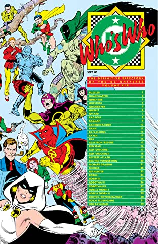 Who's Who: The Definitive Directory of the DC Universe (1985-1987) No.19