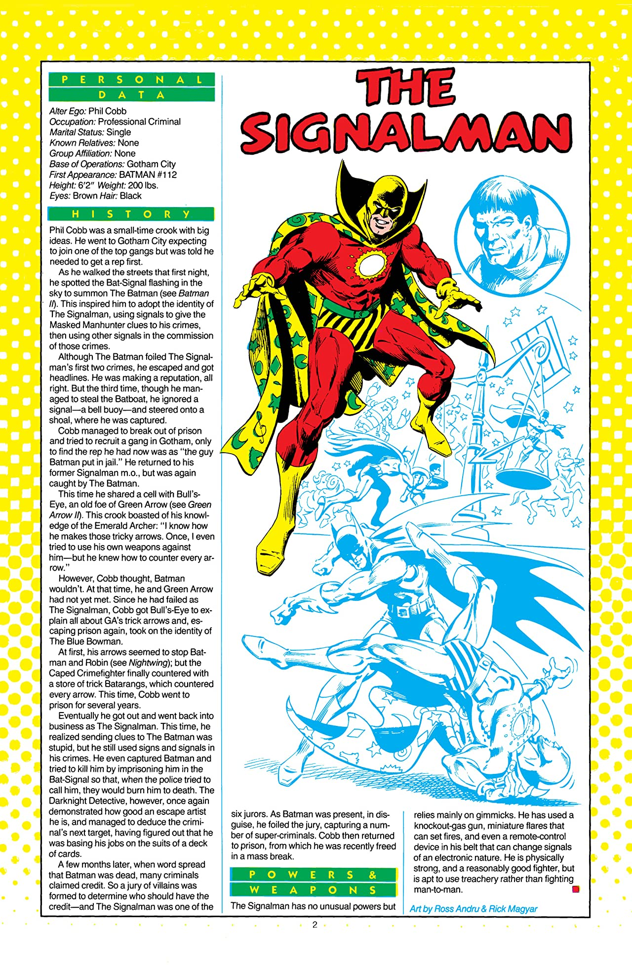 Who's Who: The Definitive Directory of the DC Universe (1985-1987) #21