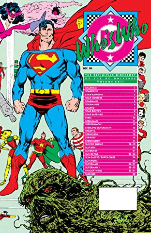 Who's Who: The Definitive Directory of the DC Universe (1985-1987) #22
