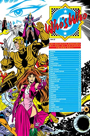 Who's Who: The Definitive Directory of the DC Universe (1985-1987) No.23