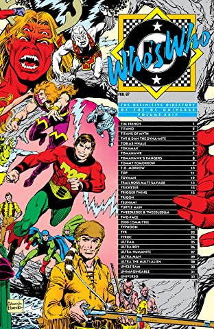 Who's Who: The Definitive Directory of the DC Universe (1985-1987) #24