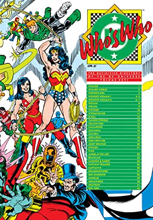 Who's Who: The Definitive Directory of the DC Universe (1985-1987) No.26