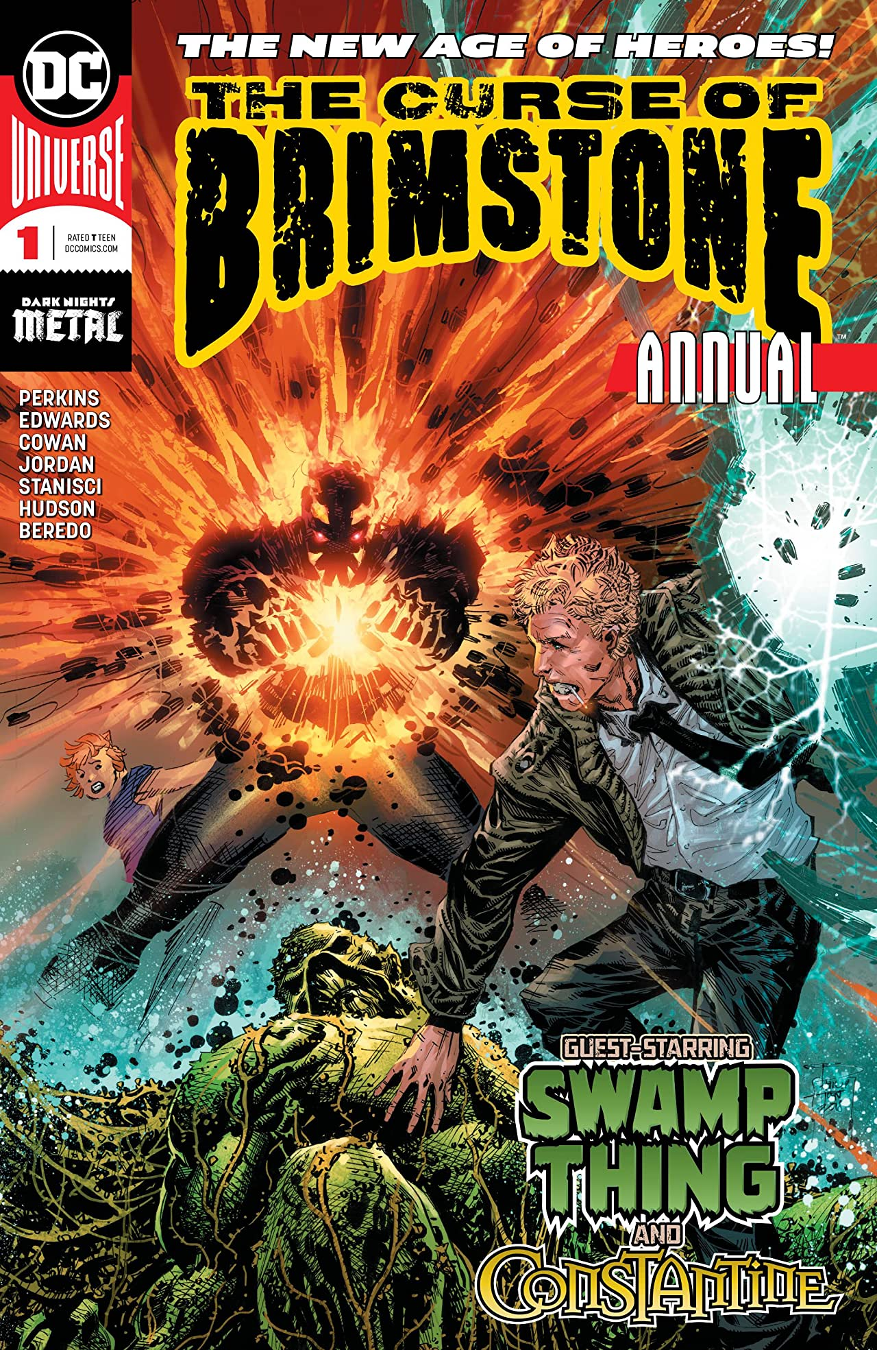 The Curse of Brimstone (2018-) Annual No.1