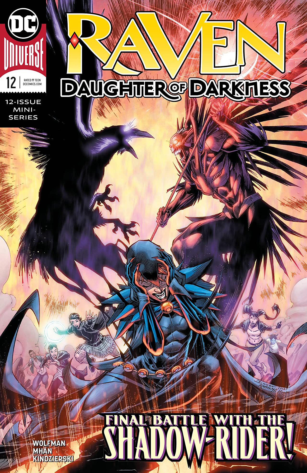 Raven: Daughter of Darkness (2018-) No.12