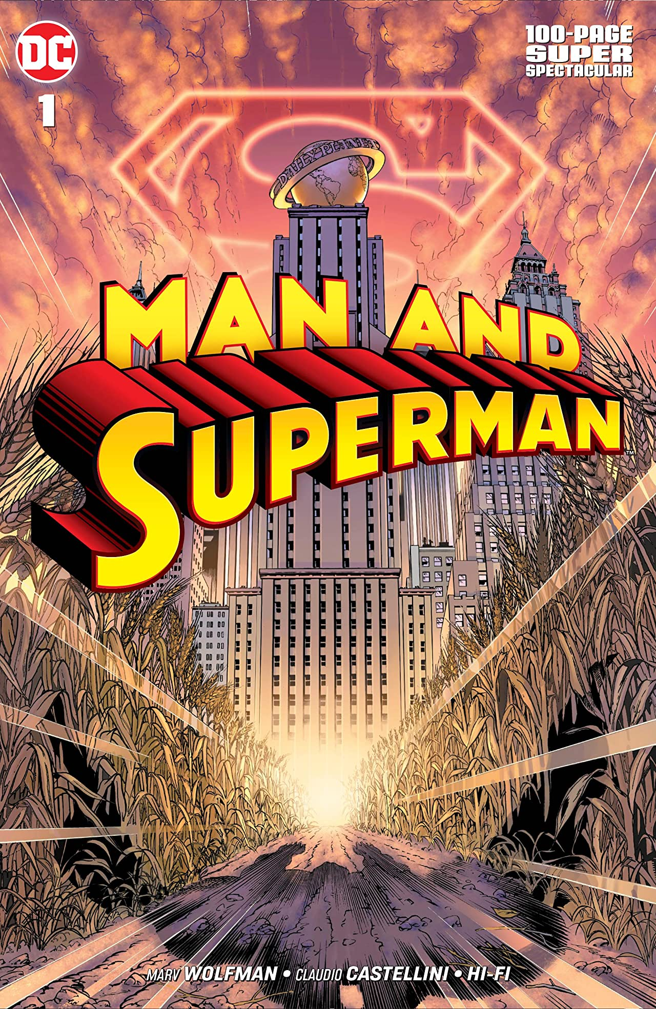 Man and Superman 100-Page Super Spectacular (2019) No.1