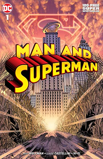 Man and Superman 100-Page Super Spectacular (2019) #1