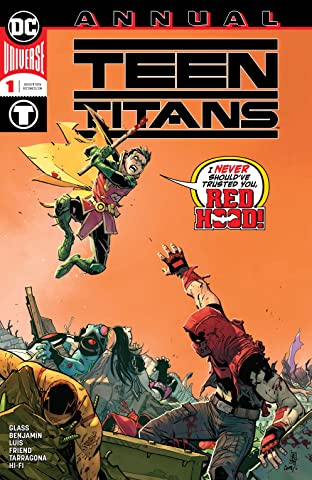 Teen Titans (2016-) Annual #1