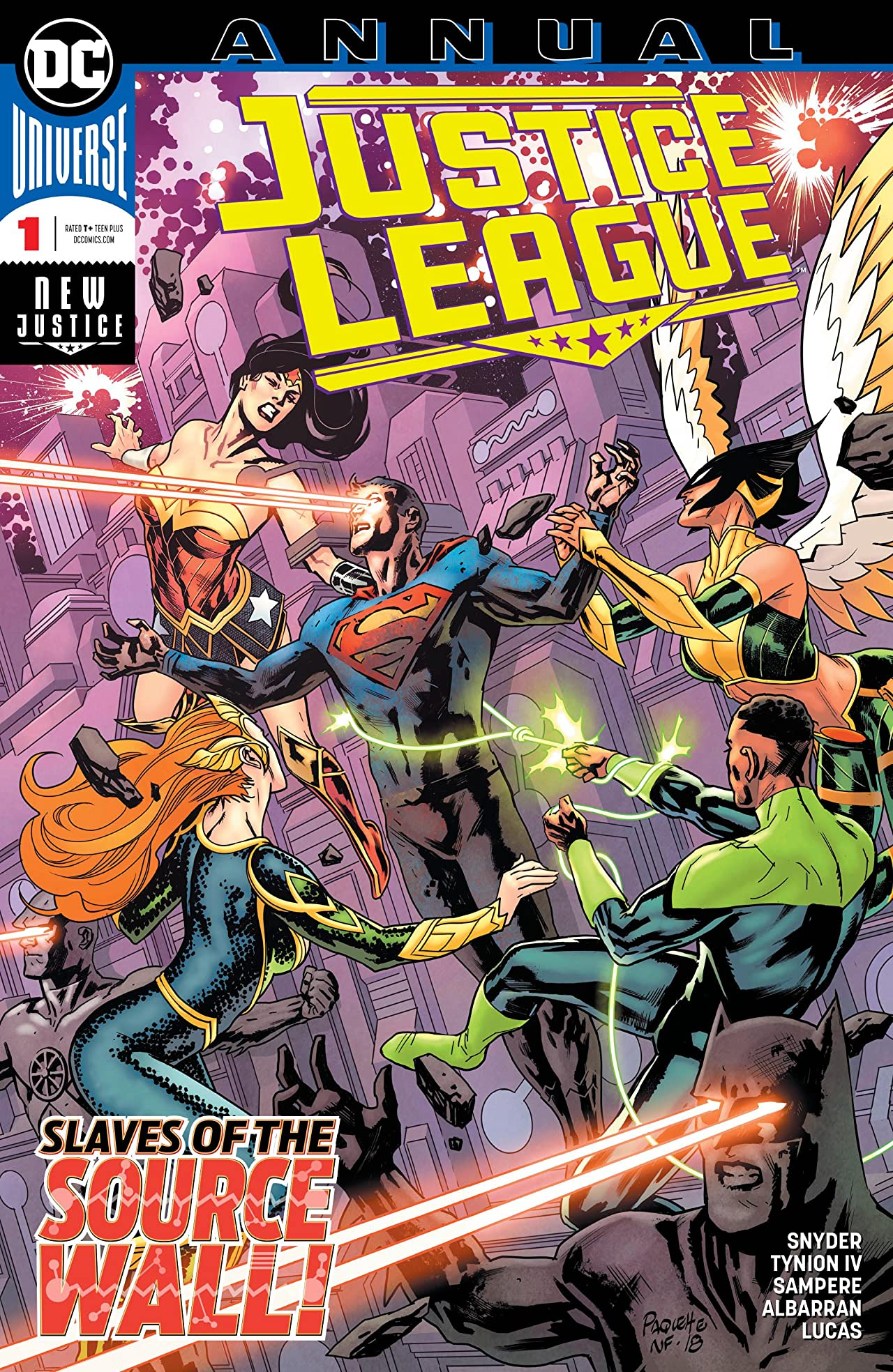 Justice League (2018-) Annual No.1