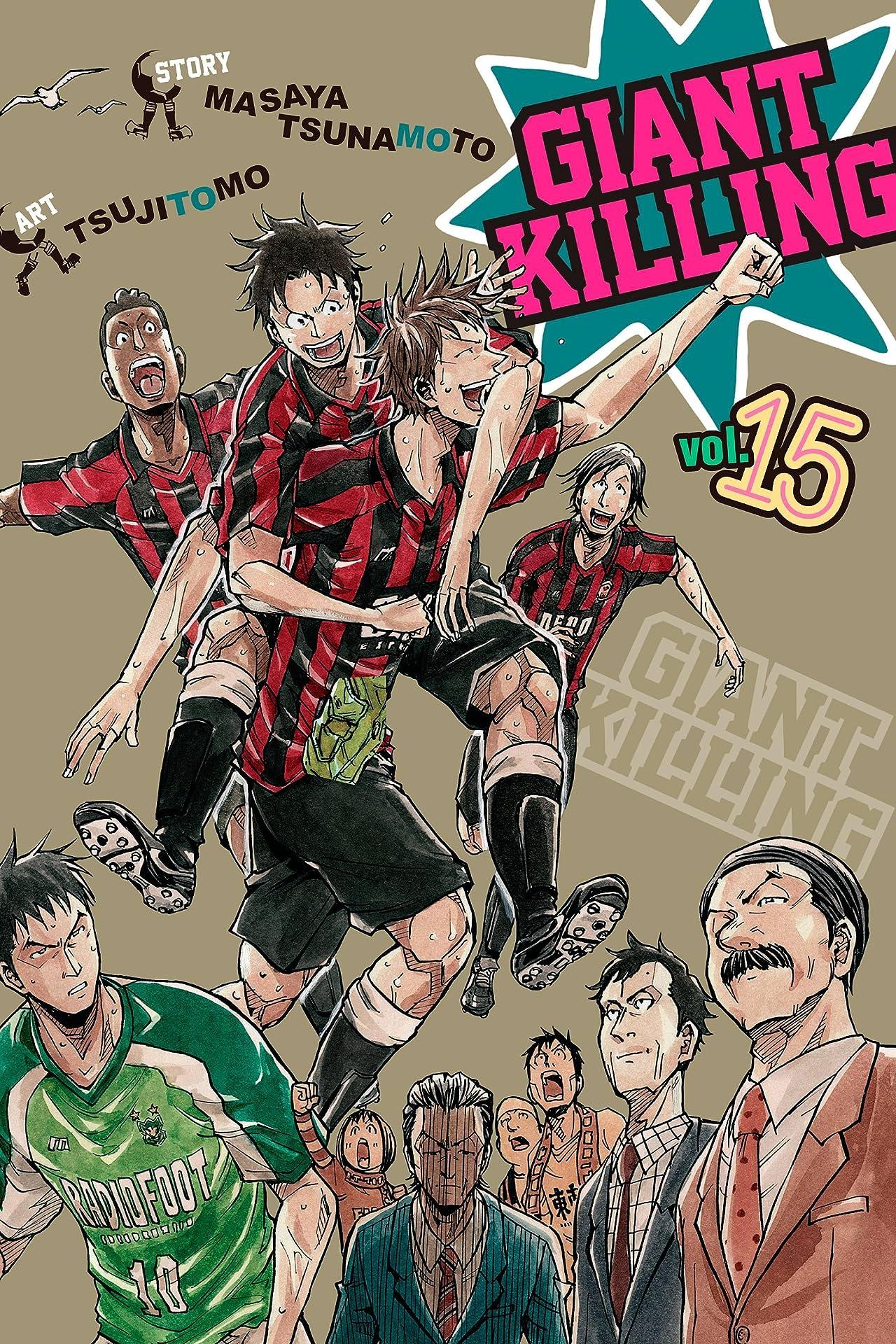 Giant Killing Vol. 15