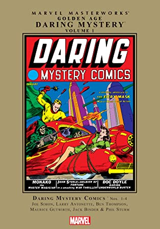 Golden Age Daring Mystery Masterworks Vol. 1