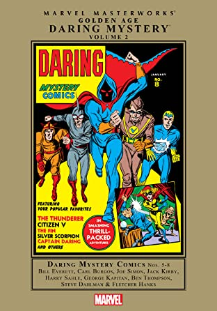 Golden Age Daring Mystery Masterworks Vol. 2