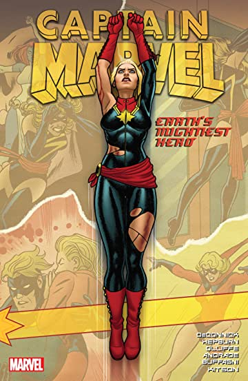 Captain Marvel: Earth's Mightiest Hero Tome 2