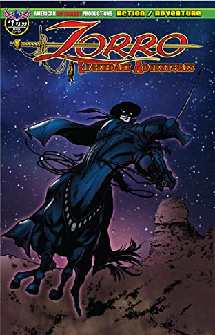 Zorro #1: Legendary Adventures