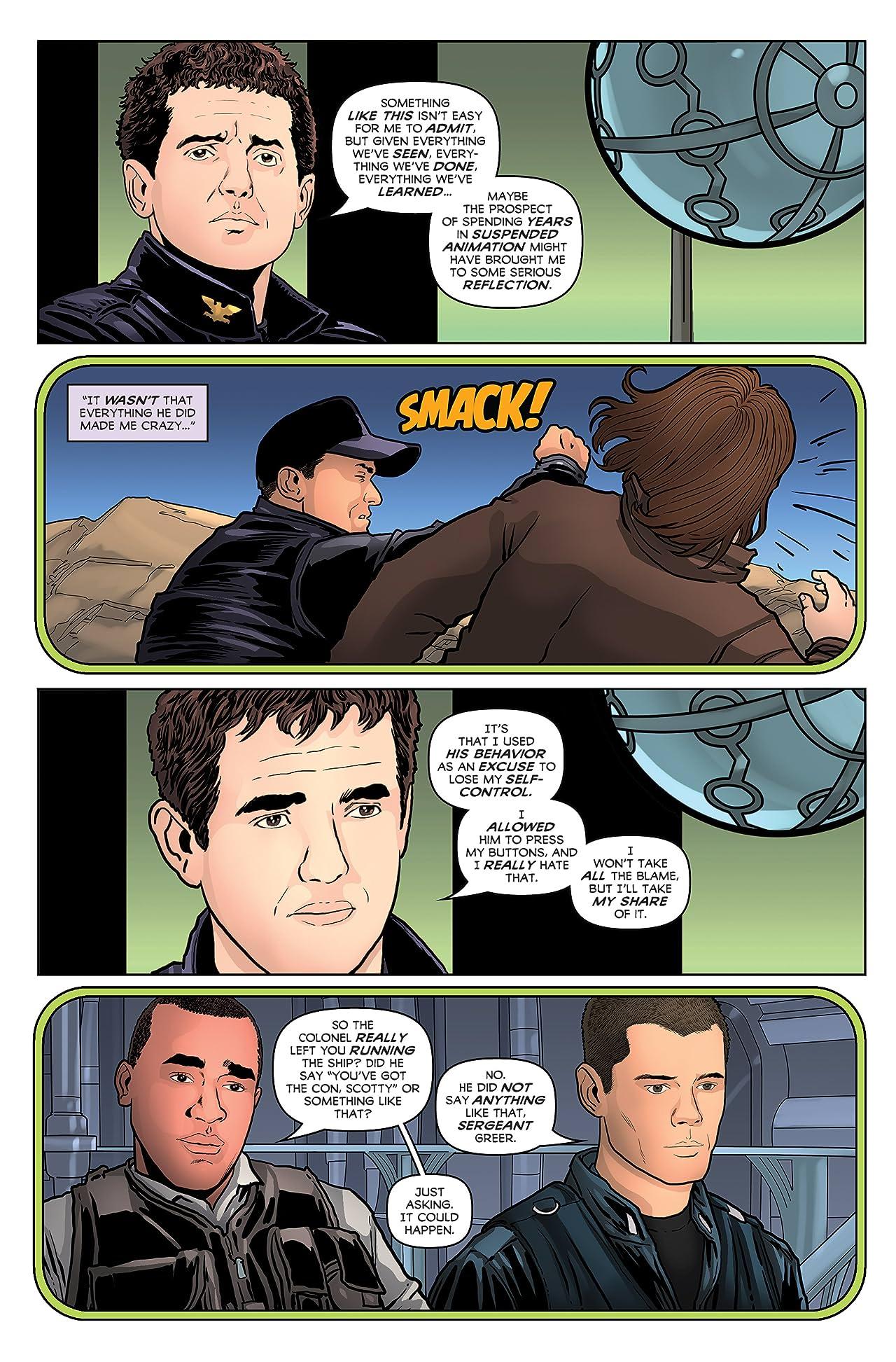 Stargate Atlantis Stargate Universe Anthology Ongoing #2