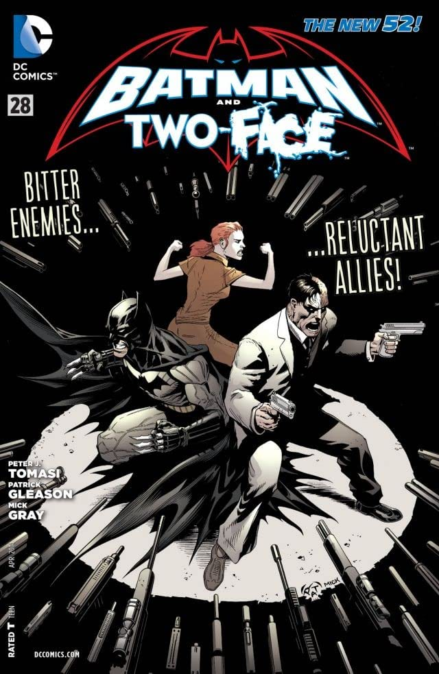 Batman and Robin (2011-2015) #28: Two Face