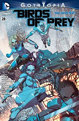 Birds of Prey (2011-2014) No.28