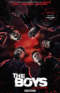 The Boys Omnibus Tome 1