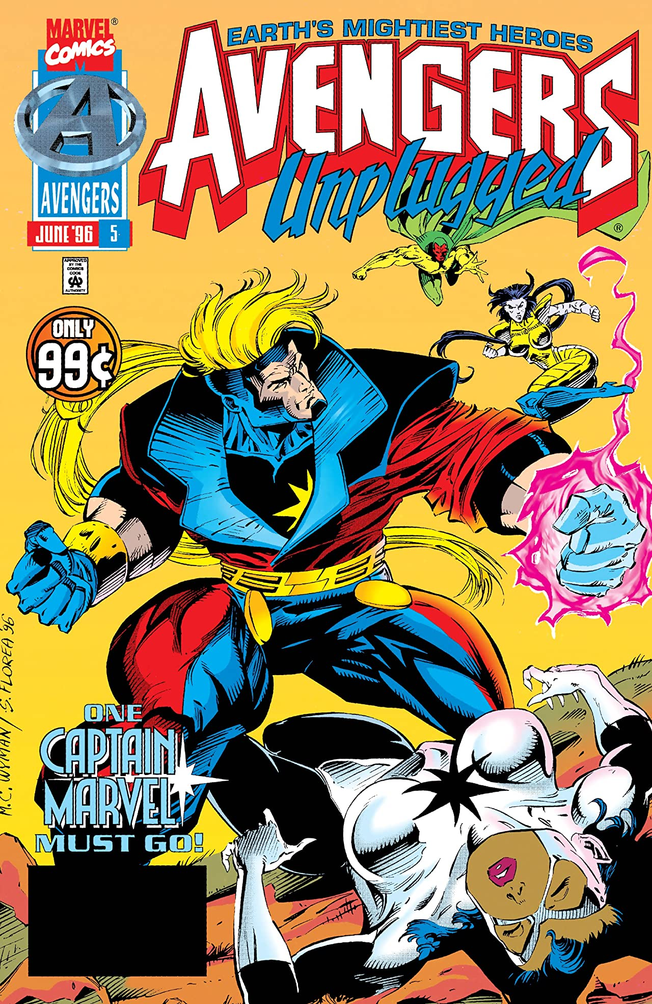 Avengers Unplugged (1995-1996) #5