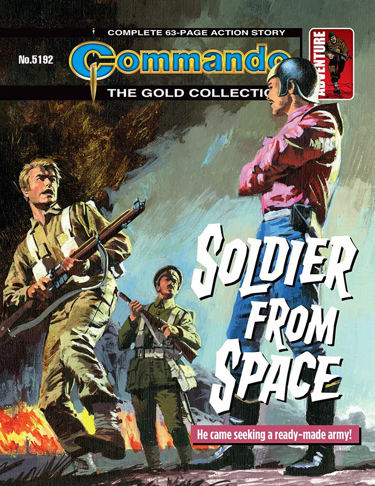 Commando #5192: Soldier From Space