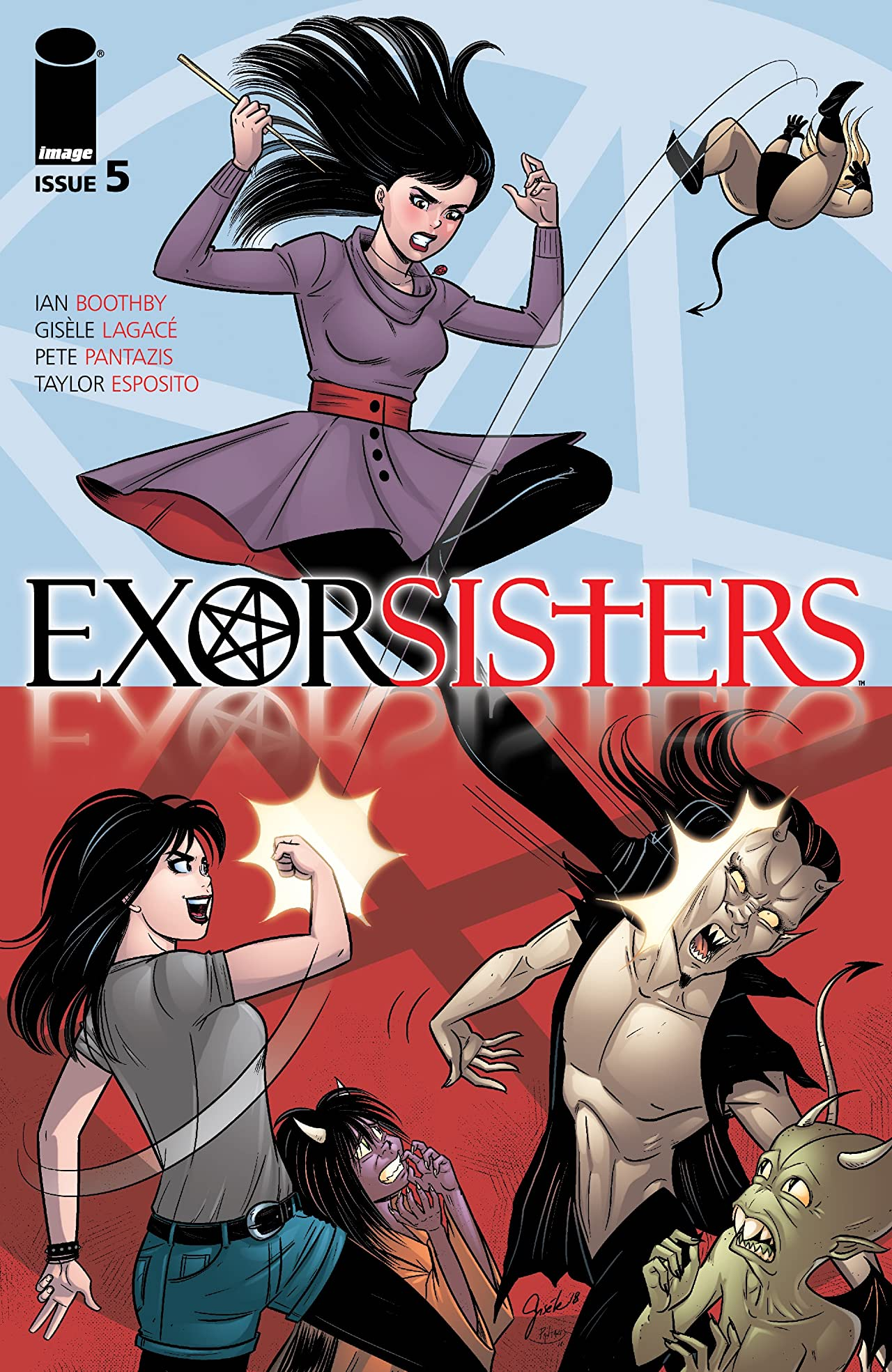 Exorsisters No.5