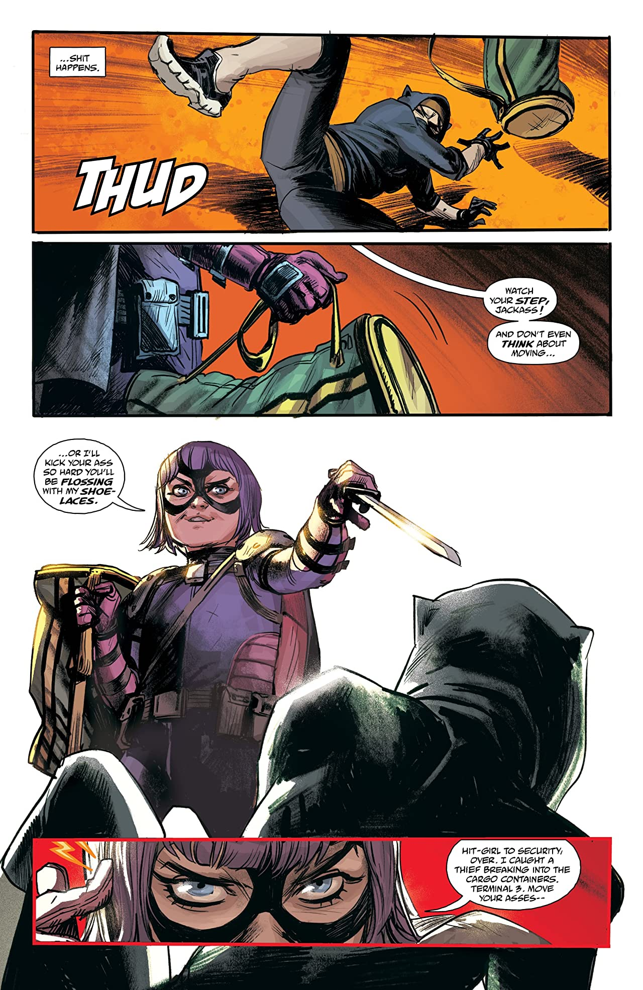Hit-Girl Vol. 3: Rome