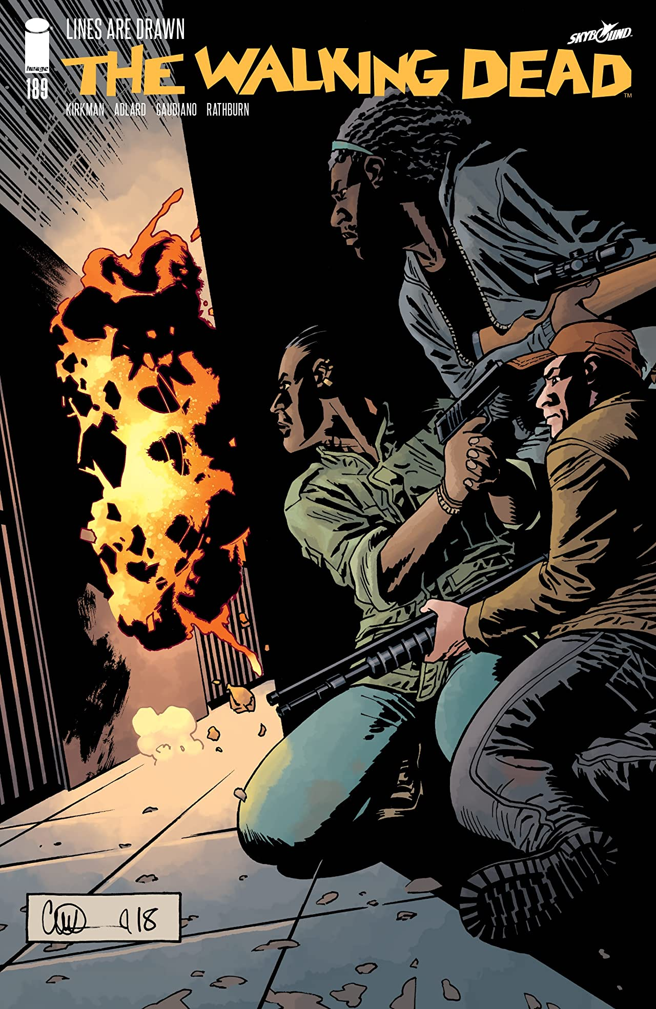 The Walking Dead No.189