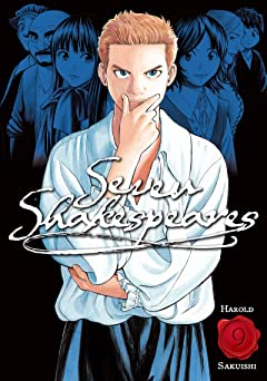 Seven Shakespeares (comiXology Originals) Tome 9