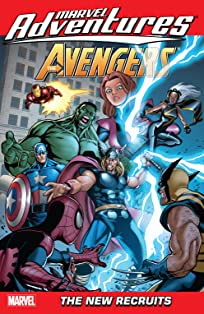 Marvel Adventures The Avengers Vol. 8: The New Recruits
