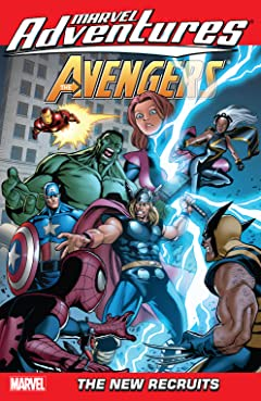 Marvel Adventures The Avengers Tome 8: The New Recruits