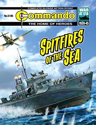Commando #5195: Spitfires Of The Sea