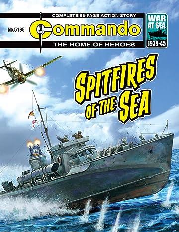 Commando #5195: Spitfires Of The Sea