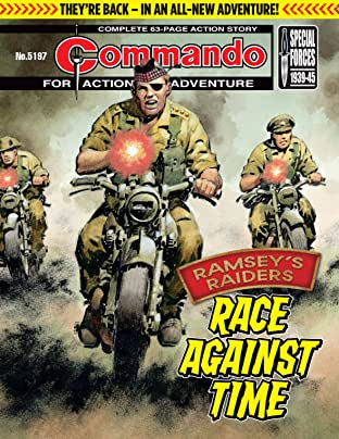 Commando #5197: Race Against Time