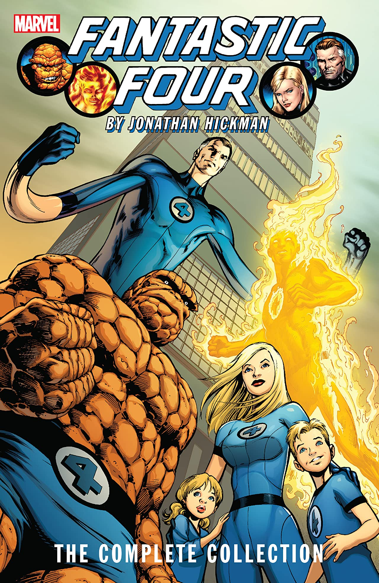 Fantastic Four By Jonathan Hickman: The Complete Collection Vol. 1